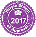 2017 Purple Stamp