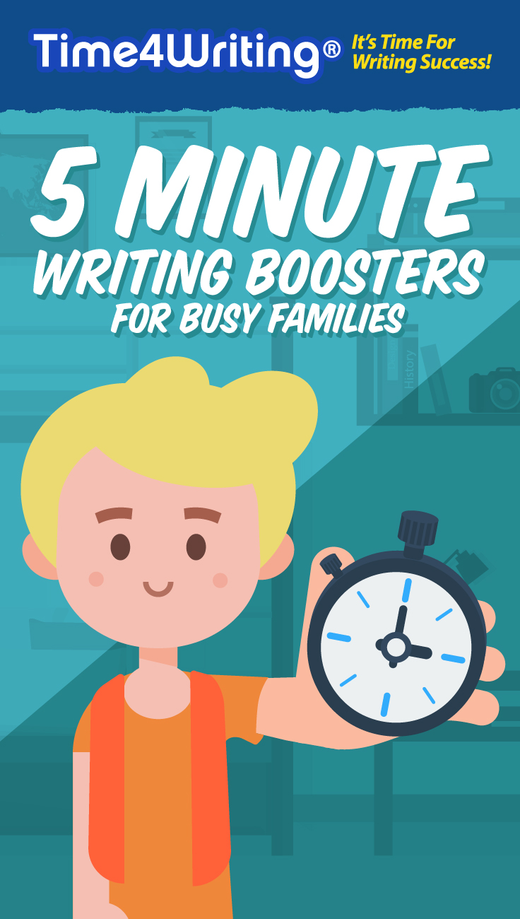 5 Minute Writing Activities for Kids
